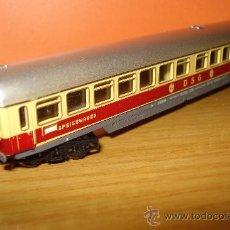 Trenes Escala: MINITRIX, FURGON CORREOS DE LA -DSG- EN -N-,. Lote 23584726