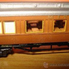 Trenes Escala: COCHE DE VIAJEROS EN ESCALA *N* MITROPA MINITRIX. Lote 15339984