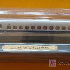 Trenes Escala: TREN LOCOMOTORA DE COLECCIÓN. TREN BALA DE JAPÓN SERIES 700 SHINKANSEN. ESCALA N. PRECINTADO.. Lote 31867470
