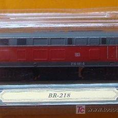 Trenes Escala: TREN LOCOMOTORA DE COLECCIÓN. BR-218 DE ALEMANIA. ESCALA N. PRECINTADO.. Lote 14543458