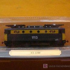 Trenes Escala: TREN LOCOMOTORA DE COLECCIÓN. NS 1100 DE HOLANDA. ESCALA N. PRECINTADO.. Lote 14745809