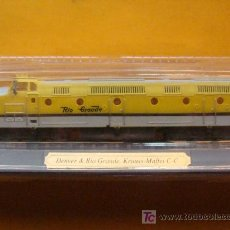 Trenes Escala: TREN LOCOMOTORA DE COLECCIÓN. DENVER & RÍO GRANDE DE ESTADOS UNIDOS. ESCALA N. PRECINTADO.. Lote 14745868