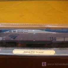 Trenes Escala: TREN LOCOMOTORA DE COLECCIÓN. AMTRAK P-42 GENESIS DE ESTADOS UNIDOS. ESCALA N. PRECINTADO.. Lote 14745891