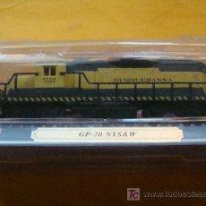 Trenes Escala: TREN LOCOMOTORA DE COLECCIÓN. GP-20 NYS & W DE ESTADOS UNIDOS. ESCALA N. PRECINTADO.. Lote 14745927