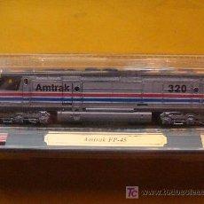 Trenes Escala: TREN LOCOMOTORA DE COLECCIÓN. AMTRAK FP-45 DE ESTADOS UNIDOS. ESCALA N. PRECINTADO.. Lote 14745949