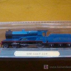 Trenes Escala: TREN LOCOMOTORA DE COLECCIÓN. GNR CLASS V 2-2-0 DE IRLANDA. ESCALA N. PRECINTADO.. Lote 14746087