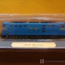Trenes Escala: TREN LOCOMOTORA DE COLECCIÓN. SAR 6E BLUE TRAIN DE SUDÁFRICA. ESCALA N. PRECINTADO.. Lote 14746099