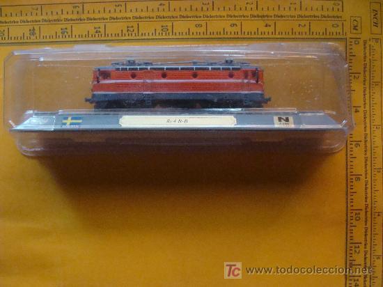 Trenes Escala: TREN LOCOMOTORA DE COLECCIÓN. RC4 B-B DE FINLANDIA. ESCALA N. PRECINTADO. - Foto 2 - 14745736
