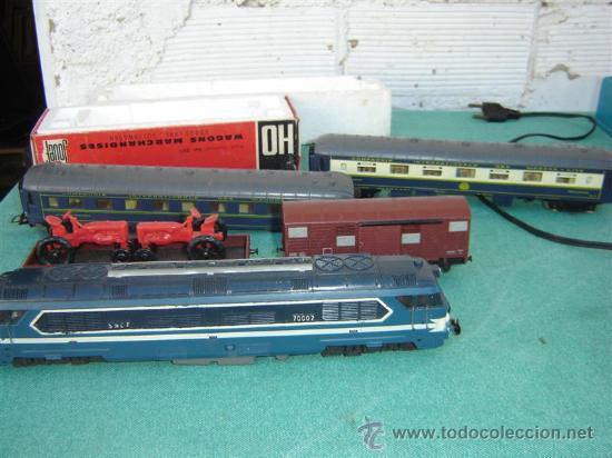Trenes Escala: tren de mercancias y de pasajero escala N-475 - Foto 3 - 16263312