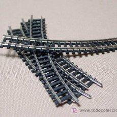 Trenes Escala: LOTE 4 VIAS CURVAS LARGAS, TRIX, ESC N, WEST GERMANY. Lote 18379396