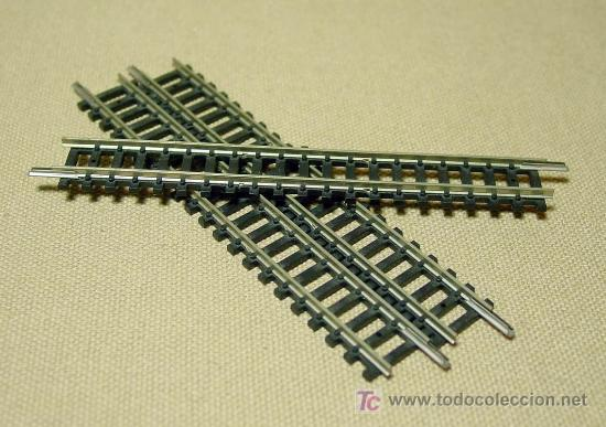 Trenes Escala: LOTE 3 VIAS CURVAS LARGAS, TRIX, ESC N, WEST GERMANY - Foto 1 - 18379437