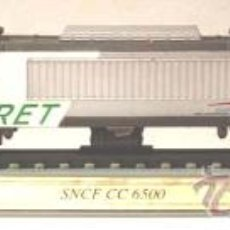 Trenes Escala: LOCOMOTORA ESTATICA DELPRADO. SNCF CC 6500. FRANCE . ESCALA N. 1:160.. Lote 27286390