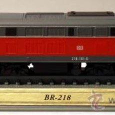 Trenes Escala: LOCOMOTORA ESTATICA DELPRADO. BR - 218. GERMANY . ESCALA N. 1:160.. Lote 26289413