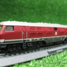 Trenes Escala: LOCOMOTORA ESTATICA CON PEANA V 320 001 DB. Lote 25423181
