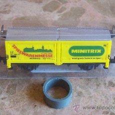 Trenes Escala: VAGON MINITRIX ESCALA N. Lote 28057771