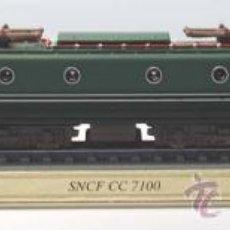 Trenes Escala: LOCOMOTORA ESTATICA DELPRADO. SNCF CC 7100. FRANCE . ESCALA N. 1:160.. Lote 28227509