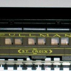 Trenes Escala: COCHE ST CROIX PULLMAN SANTA FE, REF. 2601, ATLAS RIVAROSSI, ESC. N, ORIGINAL 1968. CON CAJA.. Lote 31747283