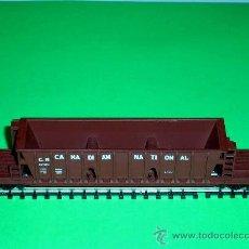 Trenes Escala: VAGÓN MERCANCÍAS AMERICANO Cª CANADIAN NATIONAL, TRIX MINITRIX ESC. N, ORIGINAL AÑOS 70.. Lote 32540059