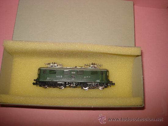 Trenes Escala: Locomotora Electrica RE 4/4 CFF SBB WINTERTHUR de KATO Escala ** N ** 1/160 MADE IN JAPAN - Foto 5 - 32964620