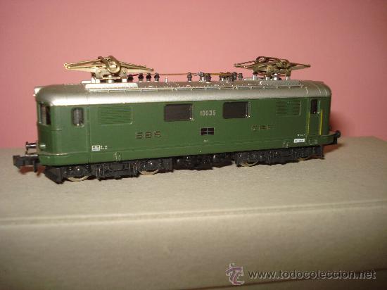 Trenes Escala: Locomotora Electrica RE 4/4 CFF SBB WINTERTHUR de KATO Escala ** N ** 1/160 MADE IN JAPAN - Foto 2 - 32964620