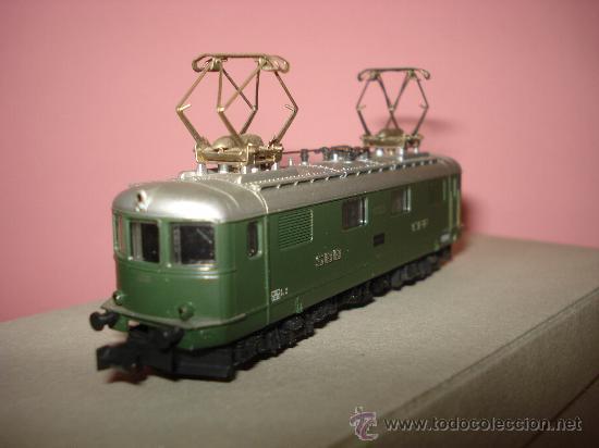 Trenes Escala: Locomotora Electrica RE 4/4 CFF SBB WINTERTHUR de KATO Escala ** N ** 1/160 MADE IN JAPAN - Foto 3 - 32964620