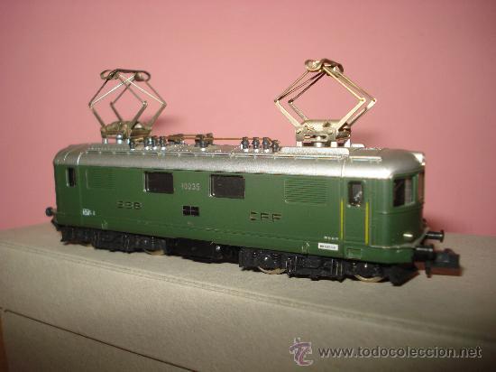 Trenes Escala: Locomotora Electrica RE 4/4 CFF SBB WINTERTHUR de KATO Escala ** N ** 1/160 MADE IN JAPAN - Foto 4 - 32964620