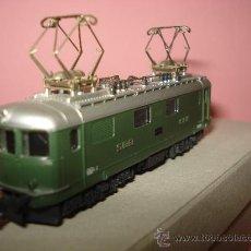 Trenes Escala: LOCOMOTORA ELECTRICA RE 4/4 CFF SBB WINTERTHUR DE KATO ESCALA ** N ** 1/160 MADE IN JAPAN. Lote 32964620