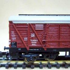 Trenes Escala: TREN, VAGON DE CARGA, TRIX, ESCALA N, 4 EJES. Lote 36083166