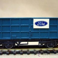 Trenes Escala: TREN, VAGON DE CARGA, FORD, PECO, INGLATERRA, ESCALA N, 2 EJES. Lote 36084176