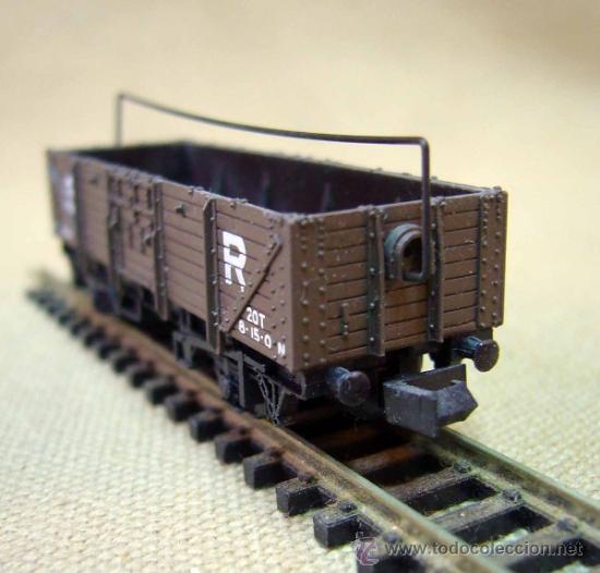 Trenes Escala: TREN, VAGON DE CARGA, PECO, INGLATERRA, ESCALA N, 2 EJES - Foto 4 - 36084145