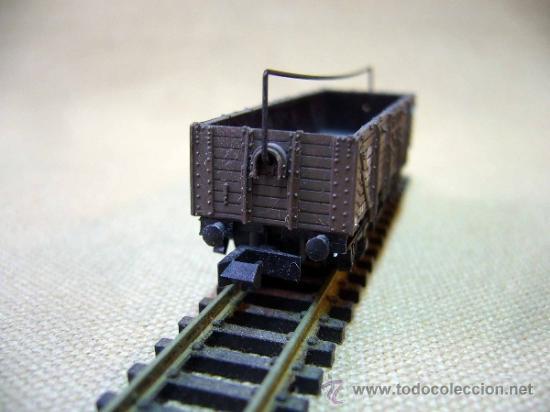 Trenes Escala: TREN, VAGON DE CARGA, PECO, INGLATERRA, ESCALA N, 2 EJES - Foto 5 - 36084145