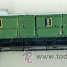Trenes Escala: FURGON ESCALA N - TRIX MINITRIX - DB 114 069 - ALEMANIA TREN FERROCARRIL . Lote 43536469