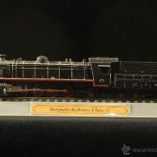 Trenes Escala: LOCOMOTORA ESTÁTICA. ESCALA N CON PEANA. CLASE 11 BENGUELA RAILWAY EN CAJA ORIGINAL. Lote 46342626