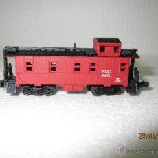Trenes Escala: FURGÓN AMERICANO CON ALTILLO F.E.C. EN ESCALA *N* DE LIFE-LIKE. Lote 47477168