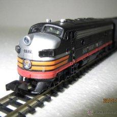 Trenes Escala: COMPOSICIÓN LOCOMOTORAS DIESEL DE LA CIA. SOUTHERN PACIFIC EN ESCALA *N* DE SPECTRUM BY BACHMANN. Lote 47477886