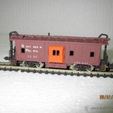 Trenes Escala: ANTIGUO FURGÓN AMERICANO DE LA SOUTTHERN PACIFIC EN ESCALA *N* DE SEKISUI CON-COR MADE IN JAPÓN. Lote 48853160