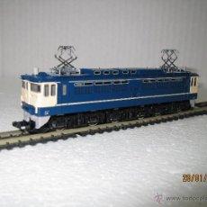 Trenes Escala: LOCOMOTORA ELECTRICA TIPO EF65 EN ESCALA *N* TOMIX DE TOMY. Lote 47598529