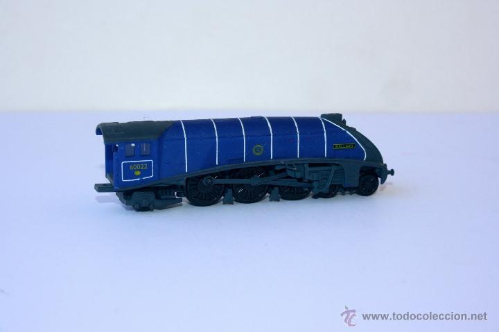 Trenes Escala: TREN TRENES LOCOMOTORA ESCALA N ESTATICOS Ibertren maqueta train antiguo paya toy - Foto 2 - 52013713