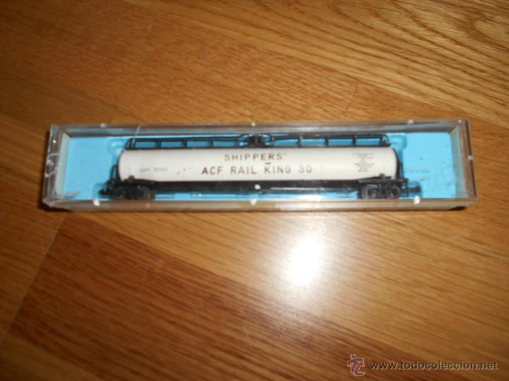 ATLAS 2346 LOS CARGADORES DE ACF DE FERROCARRIL KING 30 JUMBO VAGÓN CISTERNA (Juguetes - Trenes Escala N - Otros Trenes Escala N)
