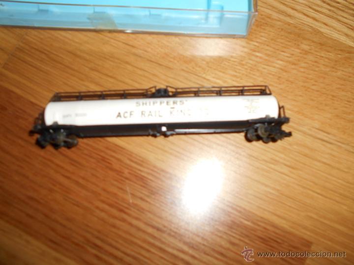 Trenes Escala: Atlas 2346 los cargadores de ACF de Ferrocarril King 30 Jumbo vagón cisterna - Foto 3 - 54607313