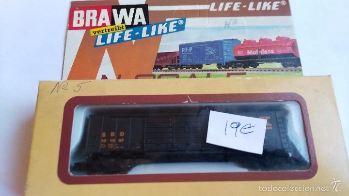 Trenes Escala: vagon brawa escala n life life 1053 en caja - Foto 4 - 55402981