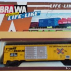 Trenes Escala: VAGON BRAWA ESCALA N LIFE LIFE 1055 EN CAJA. Lote 55403023