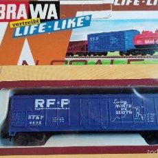 Trenes Escala: VAGON BRAWA ESCALA N LIFE LIFE EN CAJA. Lote 55403118