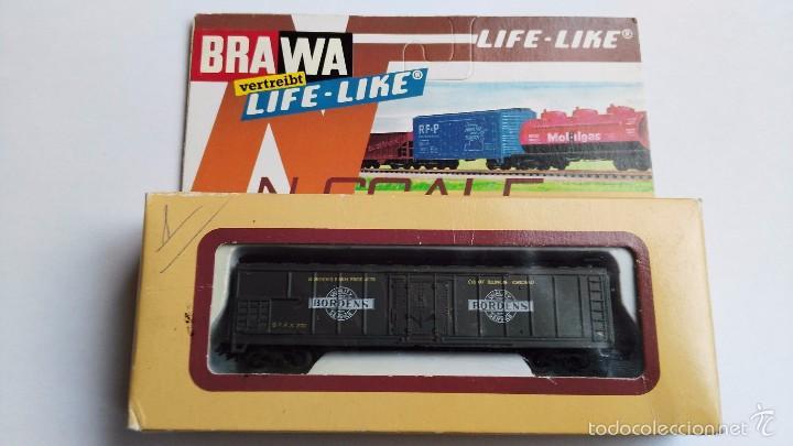 VAGON ANTIGUO BRAWA 1050 (Juguetes - Trenes Escala N - Otros Trenes Escala N)