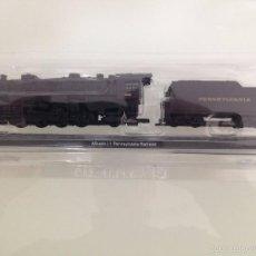 Trenes Escala: LOCOMOTORA, MIKADO L1, PENNSYLVANIA RAIL ROAD -PRR, CLUB INTERNACIONAL DEL LIBRO. Lote 56026799