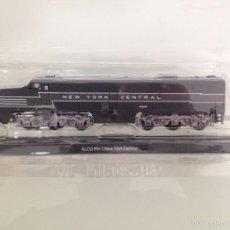 Trenes Escala: LOCOMOTORA, ALCO PA-1, NUEVA YORK CENTRAL, CLUB INTERNACIONAL DEL LIBRO. Lote 56027299