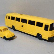 Trenes Escala: AUTOCAR Y COCHE DE CORREOS. DE WIKING. Lote 57633571