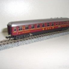 Trenes Escala: MINITRIX N VAGÓN RESTAURANTE (CON COMPRA DE 5 LOTES O MAS ENVÍO GRATIS). Lote 64975015