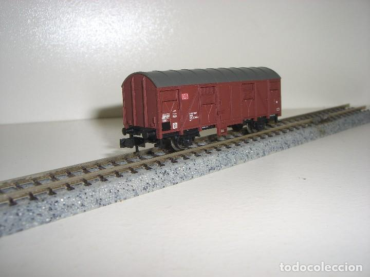 Usado, TRIX N vagón cerrado 2 ejes tipo J (Con compra 5 lotes o mas envío gratis) segunda mano