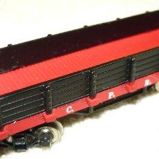 Trenes Escala: VAGON DE CARGA BAJA C.P.R.R. (CHINA). Lote 67044470